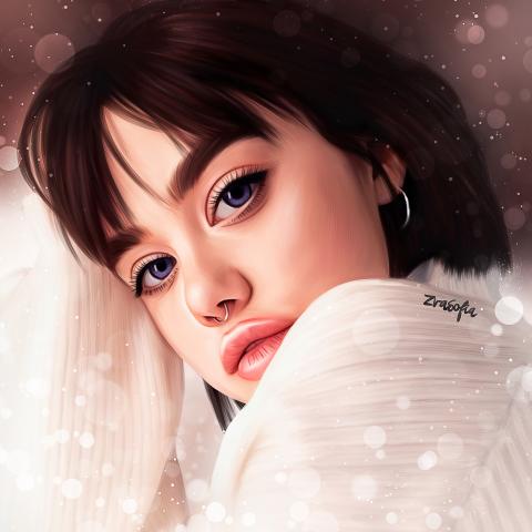 Дрим арт портрет