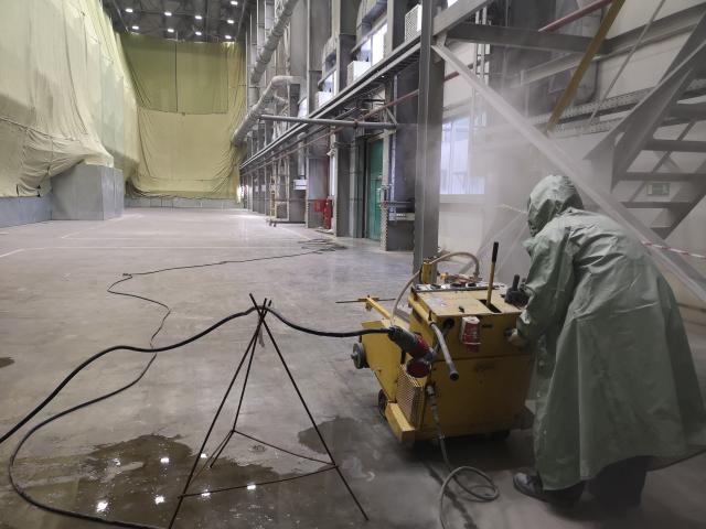 Завод СИБУР (Проект + демонтаж)