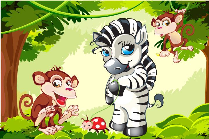 Разработка персонажа для серии детской упаковки