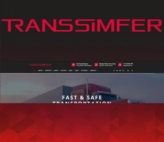 логотип компании по транспортировке грузов