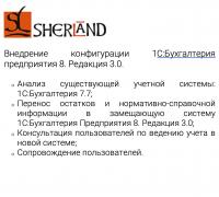 Внедрение конфигурации 1С:Бухгалтерия предприятия 8. Редакция 3.