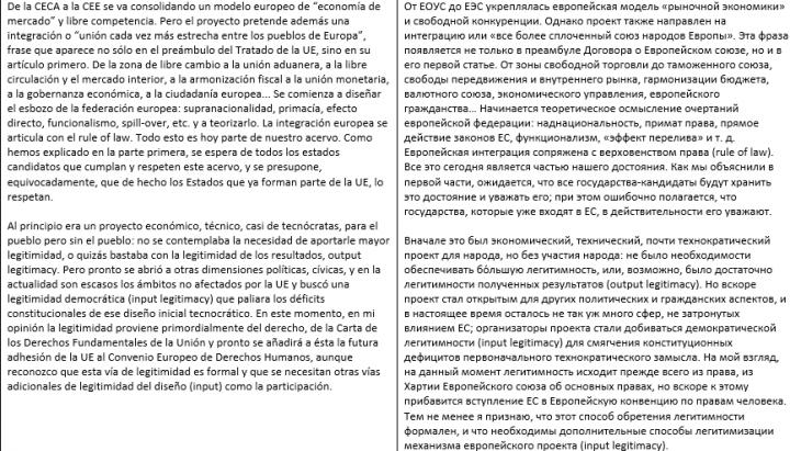 Перевод ИСП - РУС (социология)