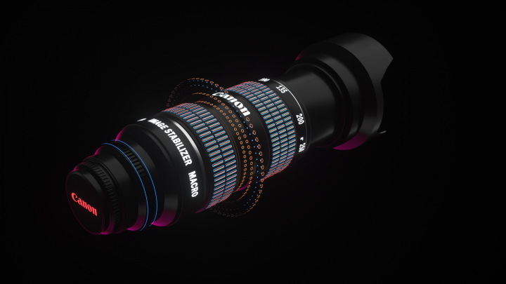Canon 3D Animation
