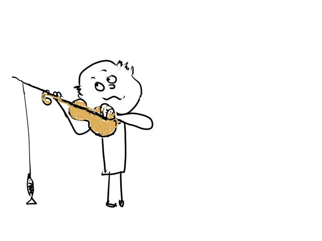 скрипач рыбак
