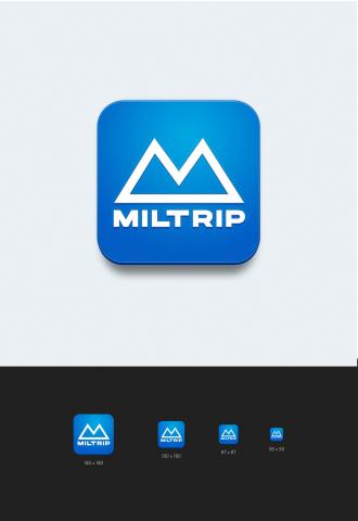 "design mobile app ""Miltrip"""