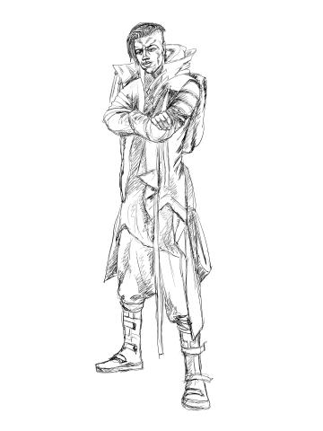 арт персонаж