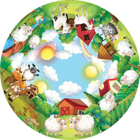 отрисовка иллюстратор для года овцы