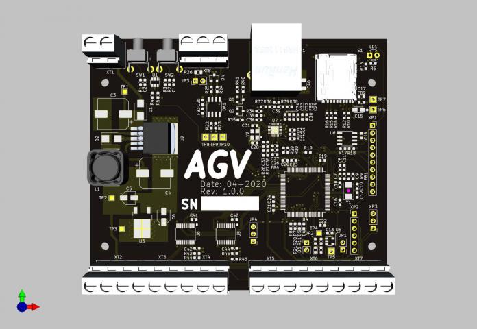Контроллер AGV