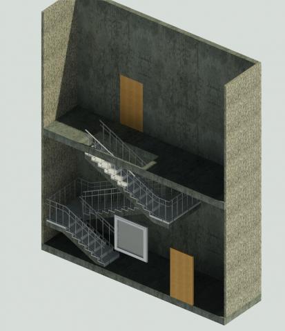 КЖ. Перенос лестницы