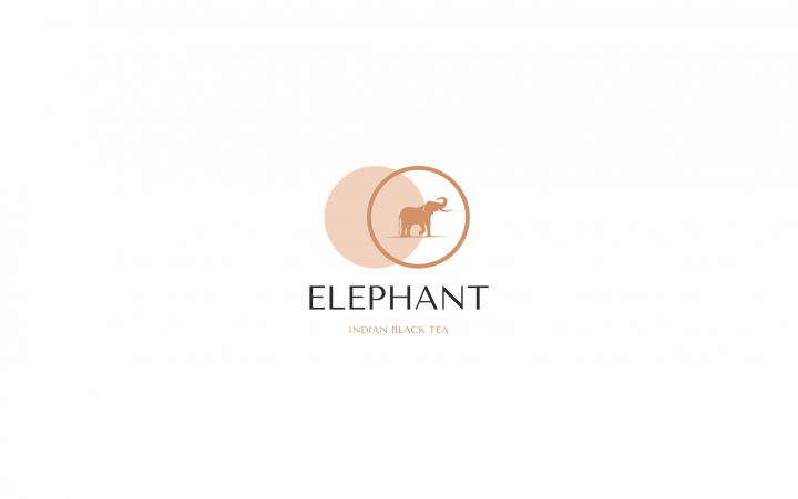логотип для Elephant tea