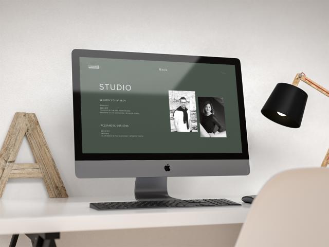 Сайт архитектурного бюро