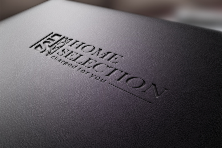 Разработка логотипа мебельной компании Home Selection