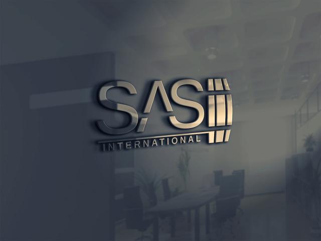 Разработка логотипа для компании SAS