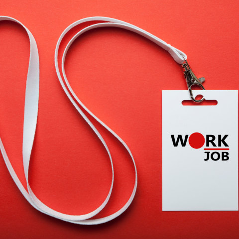 """Логотип банка вакансий """"Work Job"""""""