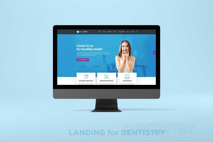Лэндинг для стоматологии