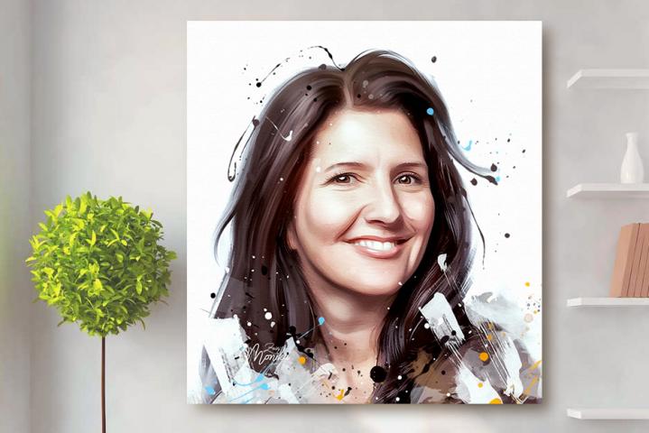 Портрет женщины (Digital)