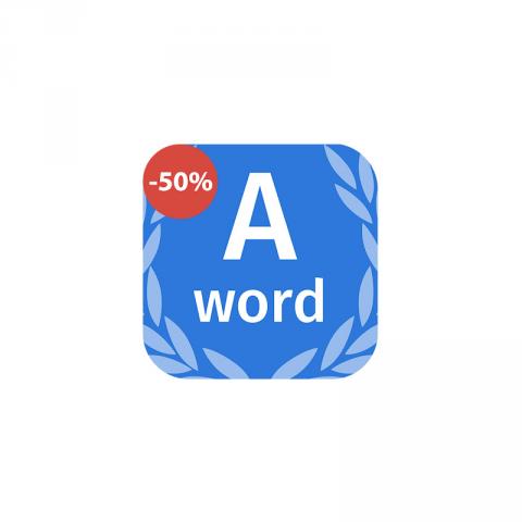 Aword - тренажёр английского языка