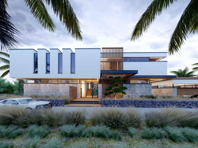 Вилла Costa, проект дома в Сочи 1200м2
