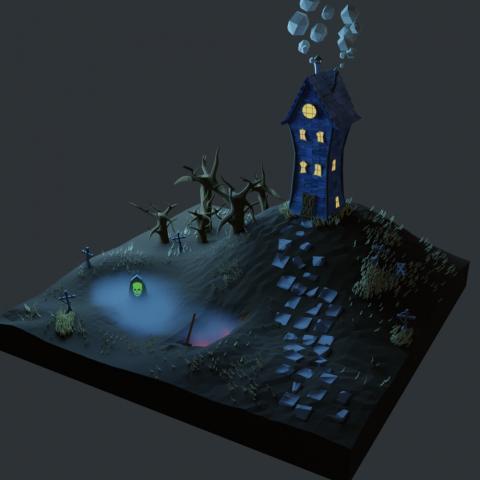 Замок гробовщика
