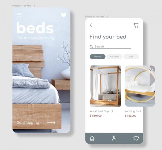 Создание интернет-магазина кроватей