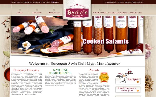 Продажа мясных деликатесов