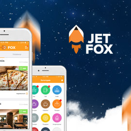 Jet-Fox - маркетплейс для ресторанов