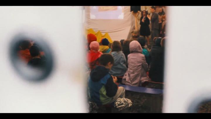 Съемка и монтаж детского лагеря