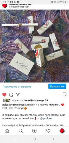 Личный пост-отзыв о парфюмерии
