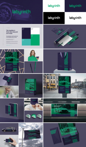 Labyrinth / Комплексная разработка бренда