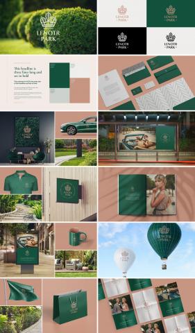 Lenotr Park / Разработка визуальной идентичности