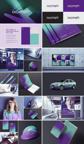 Ixometr / Разработка визуальной идентичности