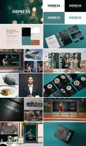 Impress / Разработка визуальной идентичности