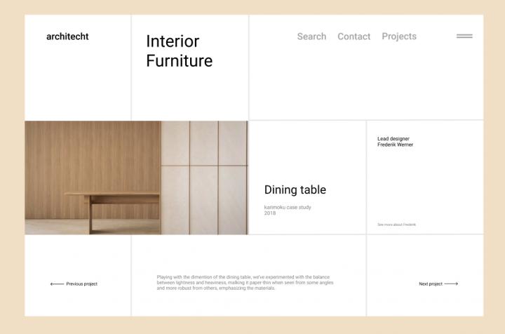 Дизайн для салона мебели