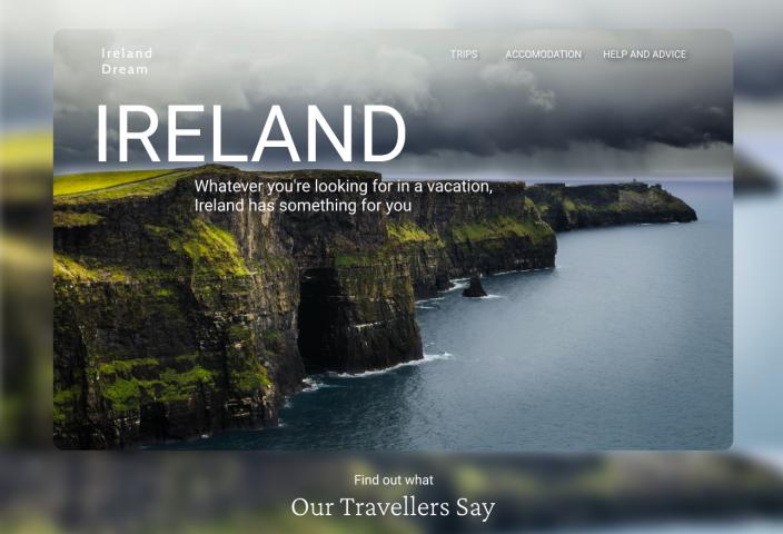 Дизайн для туров в Ирландии