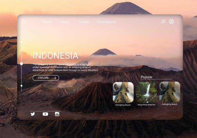 Дизайн для туров в Индонезию