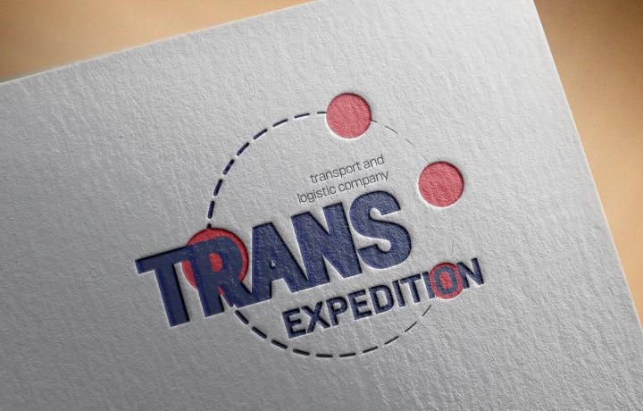 Логотип транспортно логистическая компания