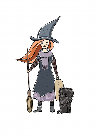 Ведьма для стикерпака