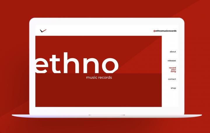 """Верстка и программирование проекта """"Echno"""""""
