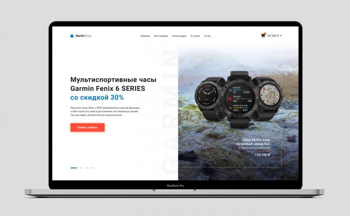 NorthShop - продажа часов Garmin