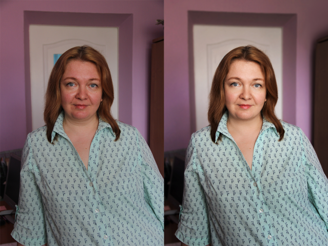 Портретная ретушь