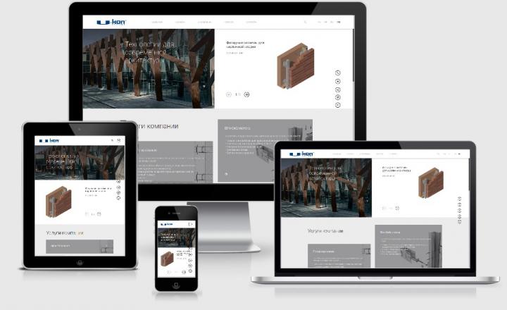 Бизнес-сайт лидера по монтажу фасадов в России