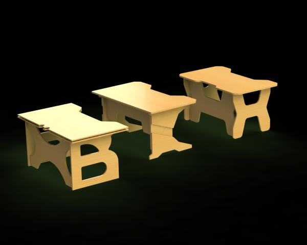 """Компьютерные столы """"Геймер"""""""