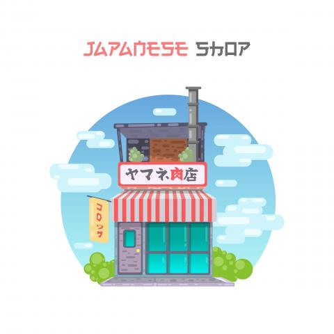 Flat Japan shop