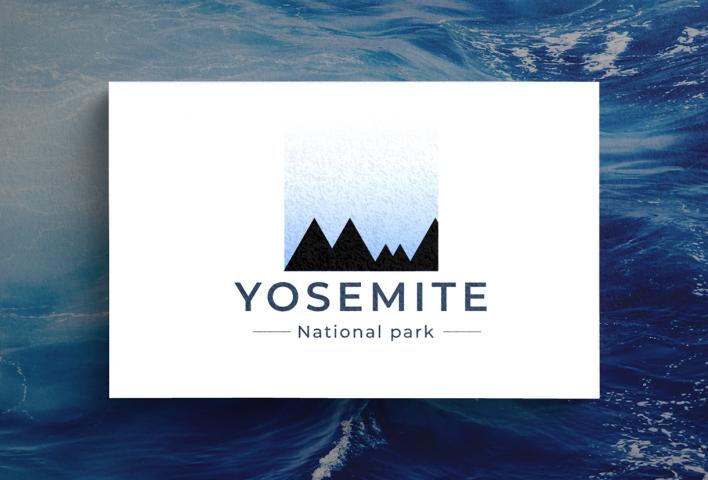 Логотип для национального парка Yosemite