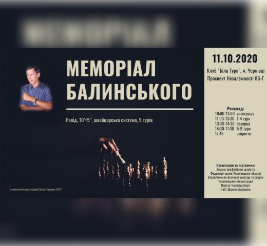 2020 Мемориал Балынского