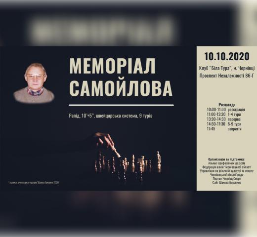2020 Мемориал Самойлова