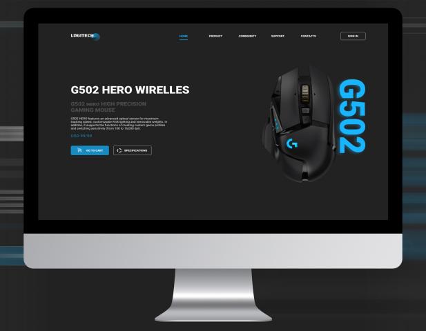 Logitech G G502 LIGHTSPEED BLACK