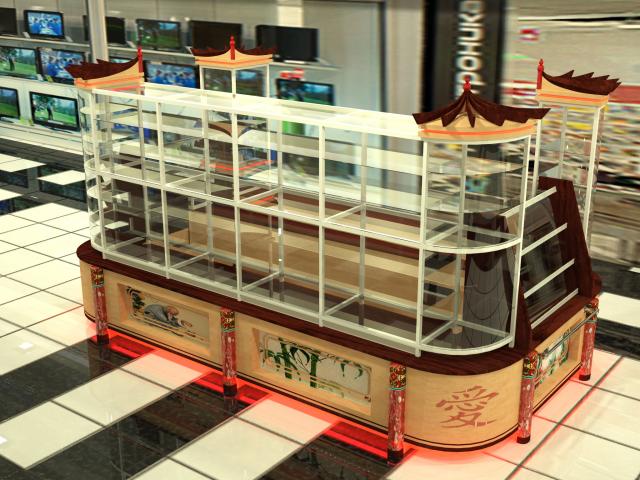 Дизайн магазинов и стендов