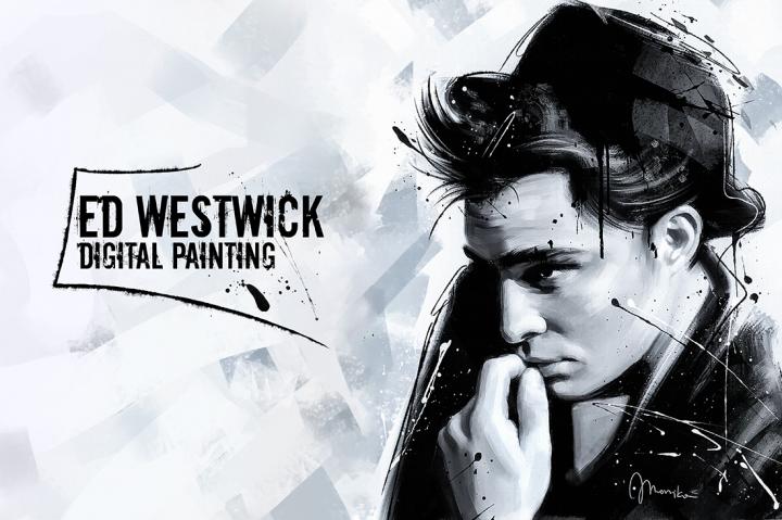 Ed Westwick (Zain Digital Art)