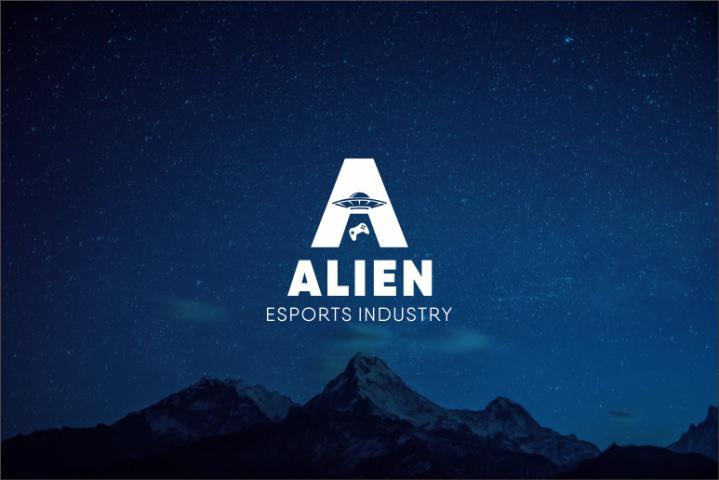 логотип для киберплатформы Alien
